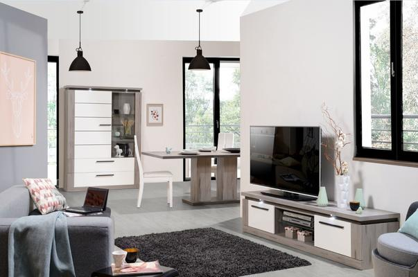 Oslo 2 door TV unit (with lighting) image 10