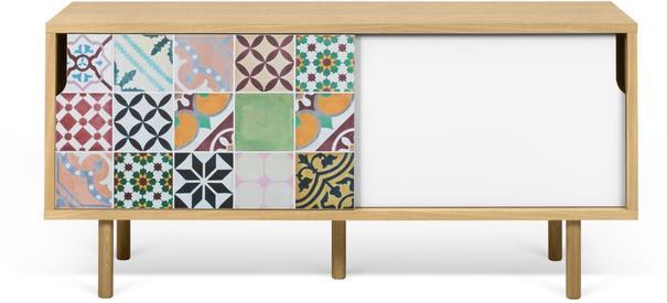 Dann (tiles) TV table