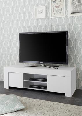 Bergamo Collection TV Unit - Matt White