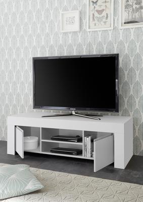 Bergamo Collection TV Unit - Matt White  image 2