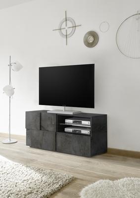 Treviso Small TV Unit - Anthracite Finish