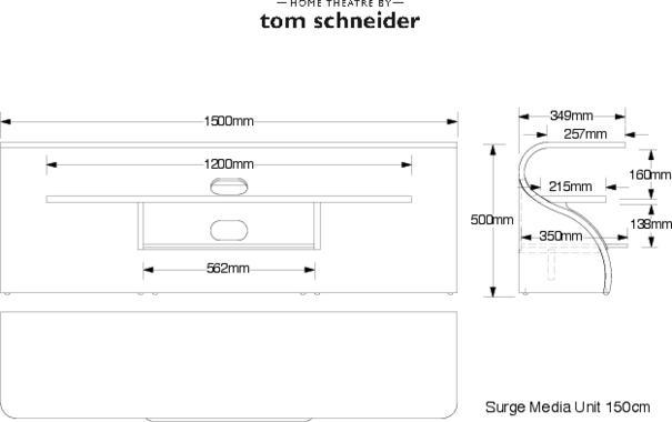 Tom Schneider Surge TV Media Table image 9