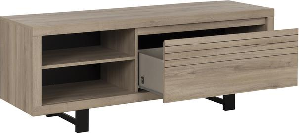 Clay TV Unit One Drawer - Light Natural Oak Finish image 5