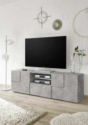 Treviso Large TV Stand - Concrete Grey finish image 3