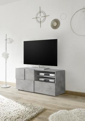 Treviso Small TV Unit - Concrete Grey Finish image 3