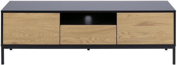 Seafor 2 door 1 drawer TV unit image 2