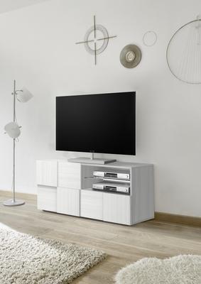 Treviso Small TV Unit- Silver Grey Finish