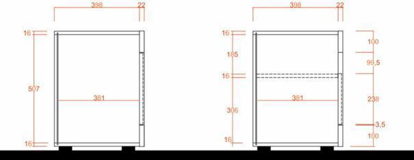 Como Three Door TV Unit - Light Oak Finish image 3