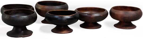 Wooden Tibetan Bowl