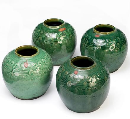 Green Ginger Jars