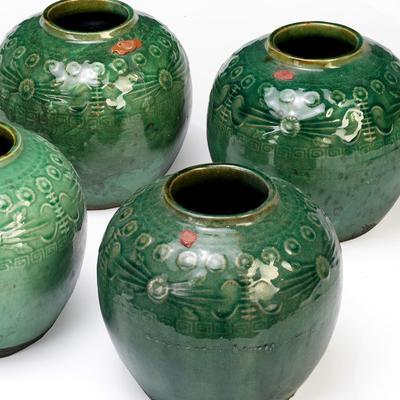 Green Ginger Jars image 2