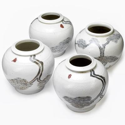 White Ginger Jars