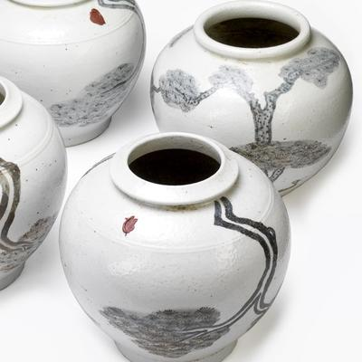 White Ginger Jars image 2