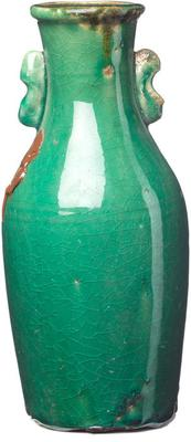 Ceramic Water Bottle - Green