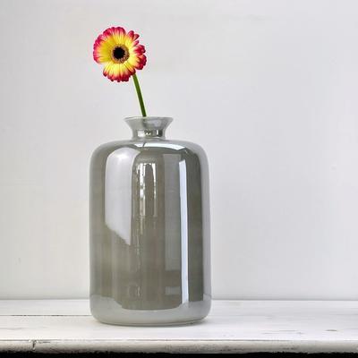 Glass Flower Vase Opal1 32cm High image 2