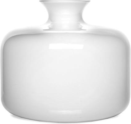 Glass Vase Blanche 25cm image 2