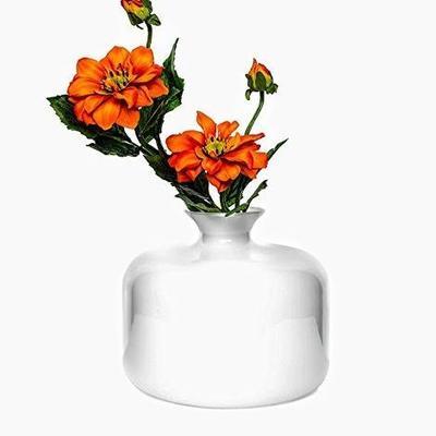 Glass Vase Blanche 25cm image 3