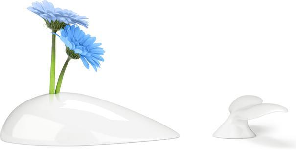 Mobi Vase - White