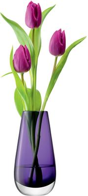 LSA Flower Colour Bud Vase - Violet