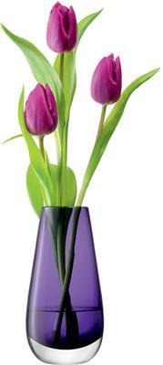 LSA Flower Colour Bud Vase - Violet