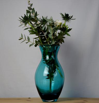 Large Posy Vase 'Turquoise - 28cm