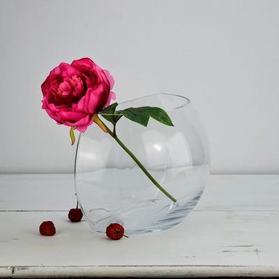 Glass Vase Crescent 28cm image 2