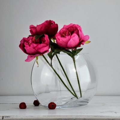 Glass Vase Crescent 28cm image 5