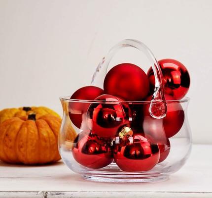Glass Basket Bowl & Handle image 4
