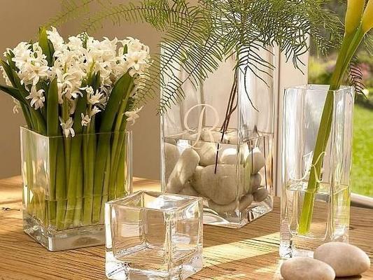 Tank Rectangular Glass Vase 25cm image 2