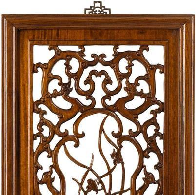 Carved Panel in Warm Elm - 'Summer' image 2