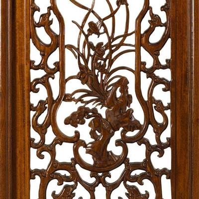 Carved Panel in Warm Elm - 'Summer' image 3