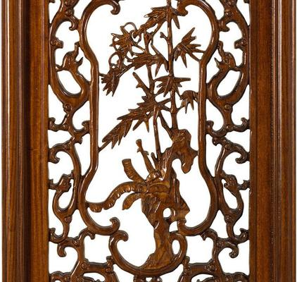 Carved Panel in Warm Elm - 'Autumn' image 3