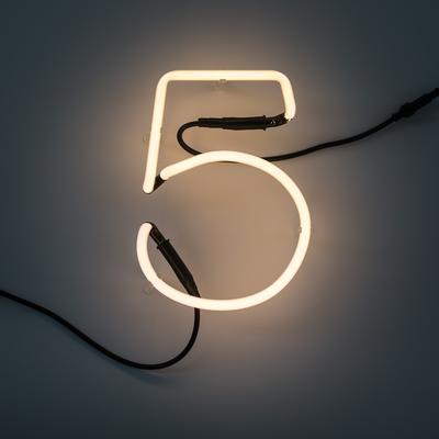 Seletti Neon Alphabet Lighting image 34