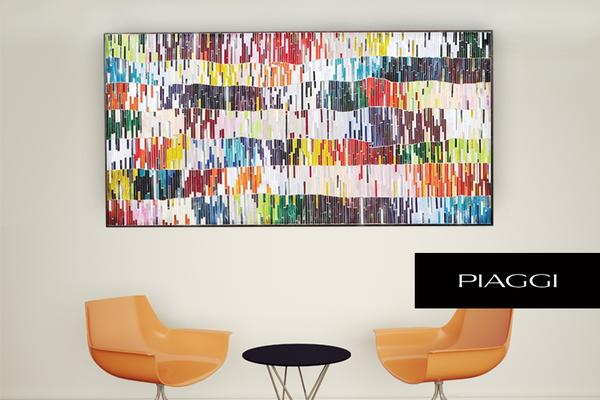 PIAGGI Shimmer decorative glass mosaic Panel