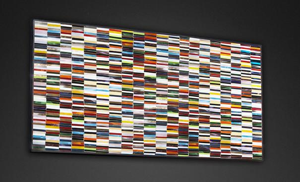 Sequence PIAGGI decorative glass mosaic Panel image 5