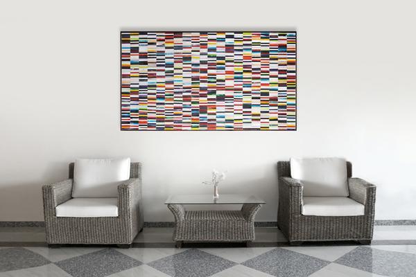Sequence PIAGGI decorative glass mosaic Panel