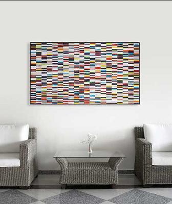 Sequence PIAGGI decorative glass mosaic Panel image 6
