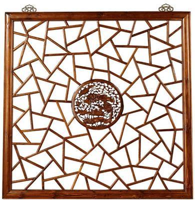 Carved Panel, Warm Elm