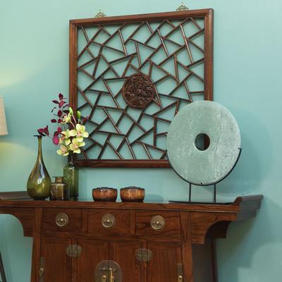 Carved Panel, Warm Elm image 2