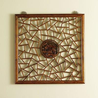 Carved Panel, Warm Elm image 3