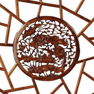 Carved Panel, Warm Elm image 5