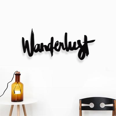 Wanderlust Wooden Sign image 2