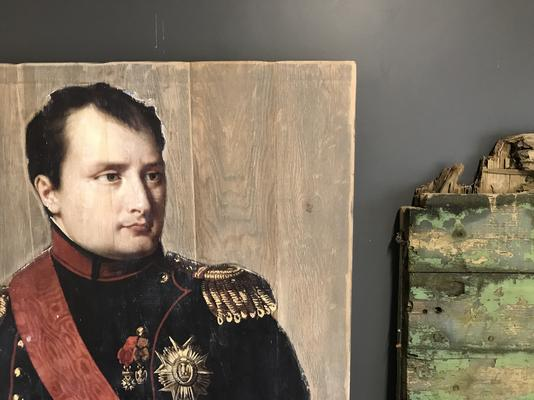 French Oak Napoleon Wall art image 2