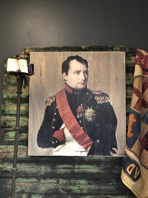 French Oak Napoleon Wall art image 3