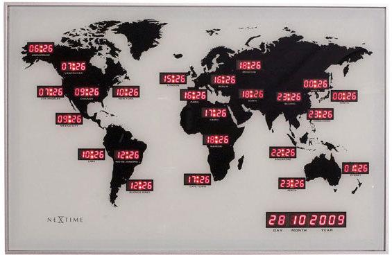 NeXtime World Time Digit Clock