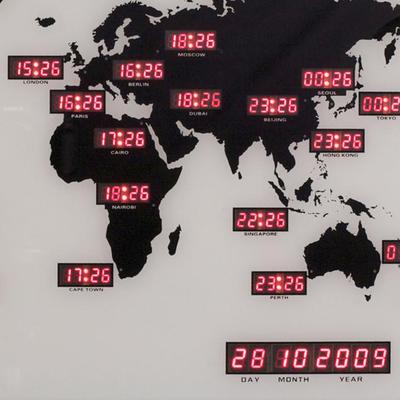NeXtime World Time Digit Clock image 2
