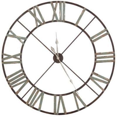 Steeple Wall Clock Rust