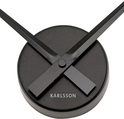 Karlsson Little Big Time Clock Mini - Black image 2