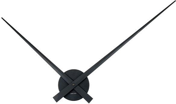 Karlsson Little Big Time Clock in Black