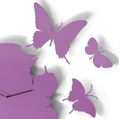 Violet Butterfly Clock image 2
